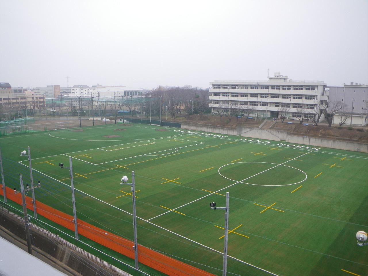 日本大学習志野高等学校グラウンド