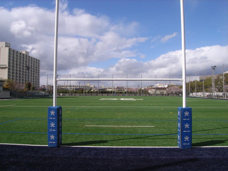 近畿大学Eキャンパスグラウンド 完工写真