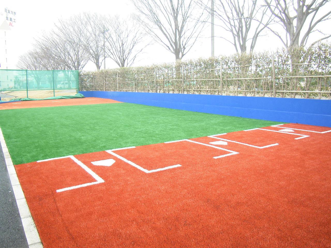 日本大学野球部ブルペン