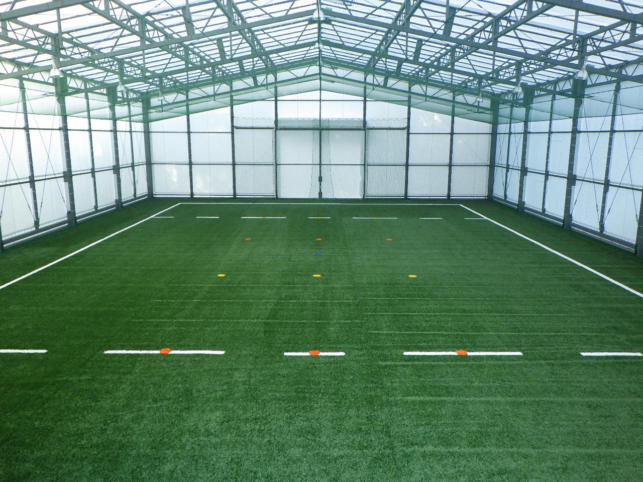 ヤマハ発動機ラグビー室内練習場