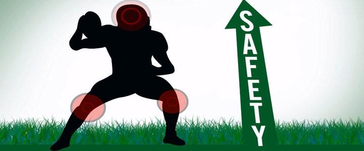 充填材重量が大きい人工芝フィールドほど高校アメリカンフットボール競技において高い安全性を発揮することが証明される